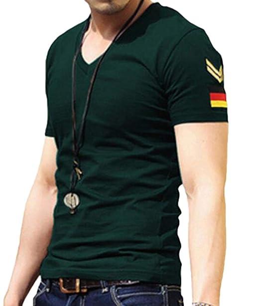 CRYYU Men Muslim Wear Long Sleeve Slim Print Button Up Shirts