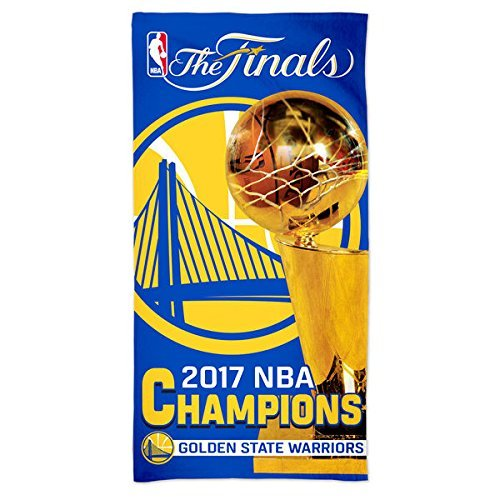 WinCraft Golden State Warriors 2017 NBA Finals Champions Spectra Beach Towel by WinCraft