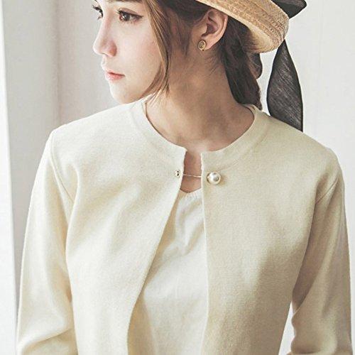 JAGETRADE 6PCS Classique Style Imitation Perle Broches /Épingles de s/ûret/é pour les femmes cadeau de f/ête des m/ères