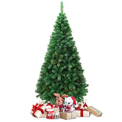 Goplus Artificial Christmas Tree Xmas Pine Tree