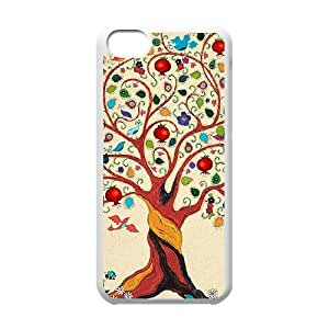 Tree of Life iPhone 5c Cell Phone Case White xlb-301815