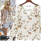 Best sannysis Friend Gifts Shirts - Sannysis Women Summer Casual Long Sleeve Tether Blouse Review