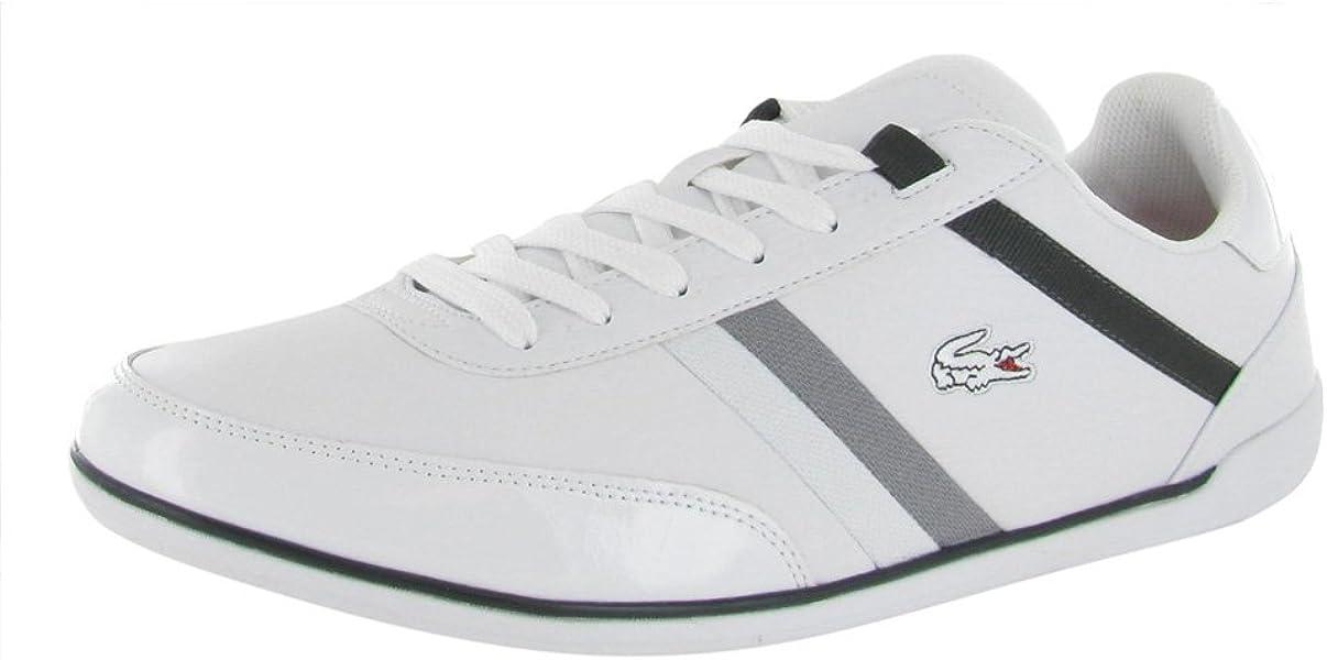 7bfe176e4 Mens Sneakers Giron SPM Dark Grey White Leather