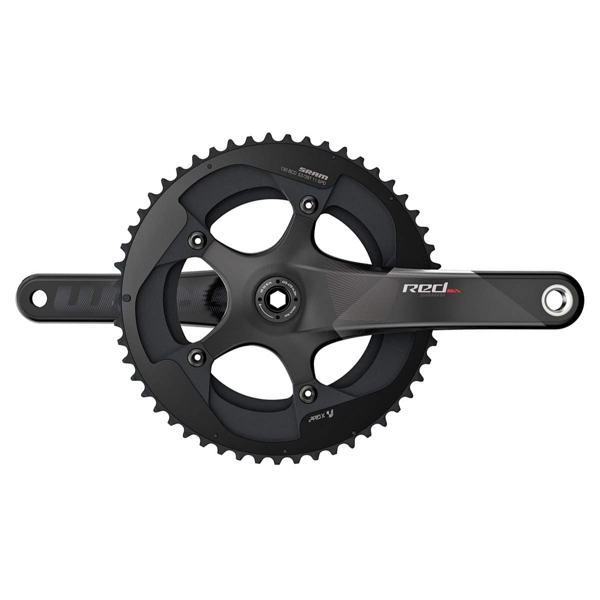 スラム RED22 GXP Crankset 52-36T 175mm   B0187ZT58M