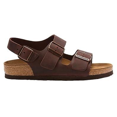 29b6bf928033 Birkenstock Milano Dark Brown Mens Sandals Size 46 EU  Amazon.co.uk  Shoes    Bags