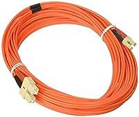eDragon ED87263 Fiber Optic Cable, LC/SC, Multimode, Duplex, 50/125, 10m, 3 Pack