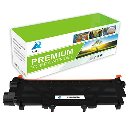 AZTECH 1 Pack 2,600 Page Yield Black Compatible Toner Cartridge Replaces Brother TN-660 TN660 TN 660 Used For Brother MFC-L2700DW MFC-L2740DW HL-L2340DW HL-L2300D HL-L2360DW DCP-L2540DW DCP-L2520DW