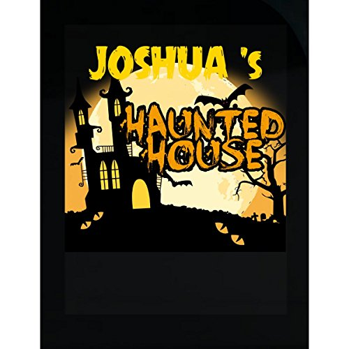 Prints Express Joshua S Haunted House Halloween Funny College Humor - Sticker