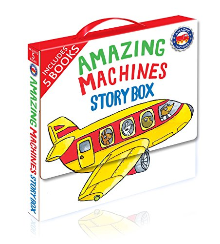 (Amazing Machines Story Box: 5 Paperbacks in a Carry Case)