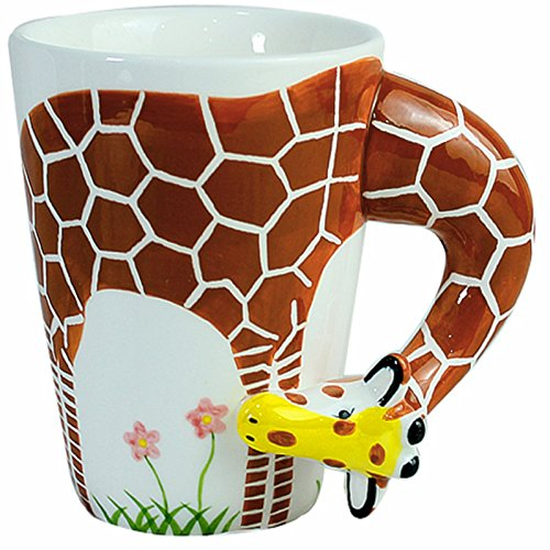 3D Coffee Mug Funny Animal Porcelain 13.5 Oz