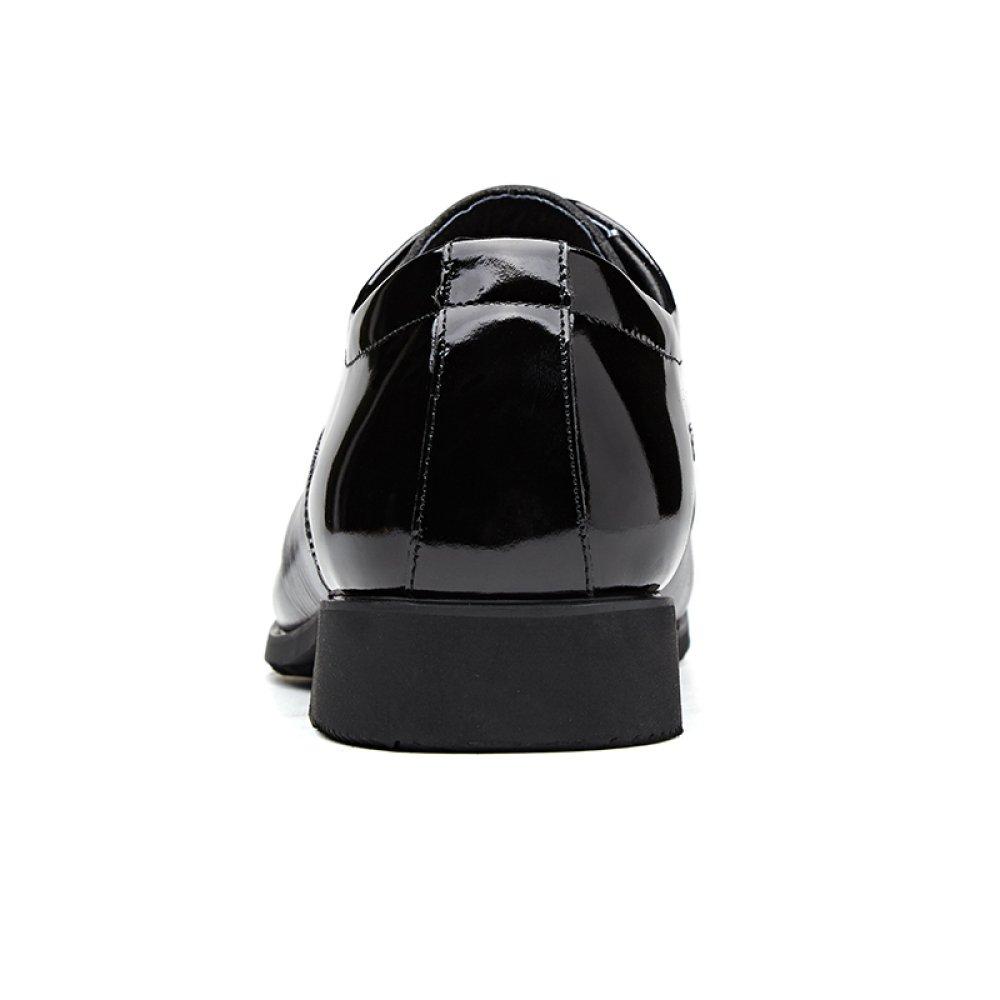GTYMFH Business Leder Einzelne Schuhe Mode Business GTYMFH Kleidung Spitzenschuhe Herrenschuhe schwarz b40a2e