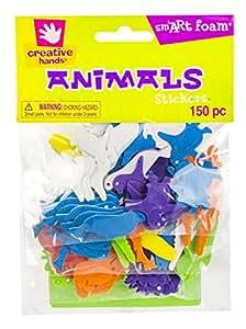 Creative Hands Foam Stickers, Animals