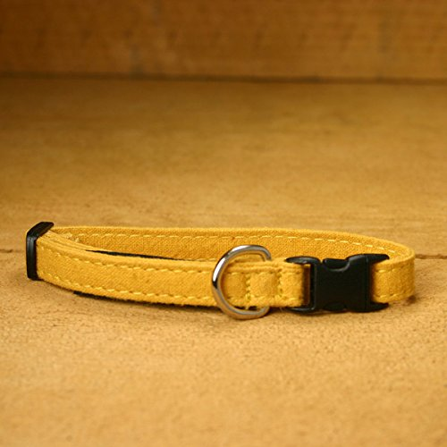 Hemp Cat Collars - 3/8