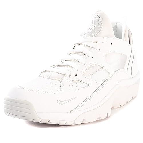buy cheap e251c a53ba NIKE AIR TRAINER HUARACHE Low Scarpe Uomo Sneaker Scarpe Da Ginnastica  Bianco
