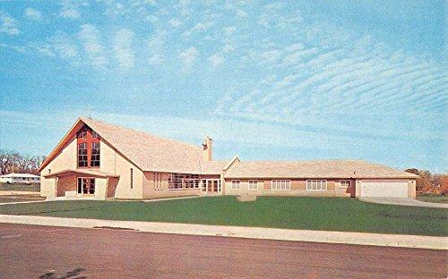 New Lisbon Wisconsin St Pauls Catholic Church Vintage Postcard K82422