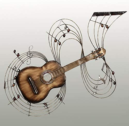 Touch of Class Within The Music Guitar Metal Wall Art