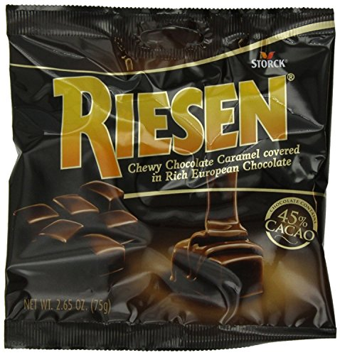 (Riesen Chewy Chocolate Caramel - 2.65oz (Pack of)