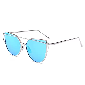 RAQ Gafas de Sol Color Film Reflective Korean Version Trend ...