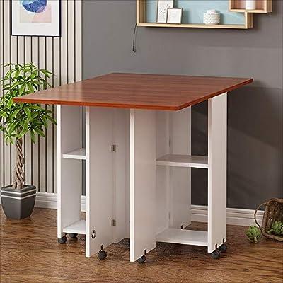 Folding table Nan Mesa Plegable para el hogar/para Mesa de Comedor ...