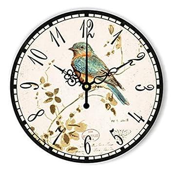 714dc72265af WXIN Lion Tiger Big Numeral Reloj De Pared Grande Reloj Habitación Infantil  Decoración De Pared Reloj De Pared Diseño Moderno para Niños - Verde