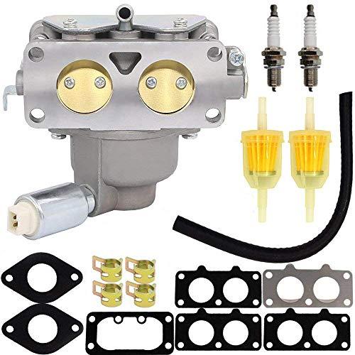HOOAI 799230 Carburetor for John Deere L111 L118 L120 LA120 LA130 LA135 LA140 LA145 LA150 Briggs & Stratton 791230 699709 499804 Toro Carburetor - John Deere LA145 Carburetor (799230) ()