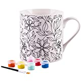 Paint Your Own Mug%2D White 8 Oz Porcela