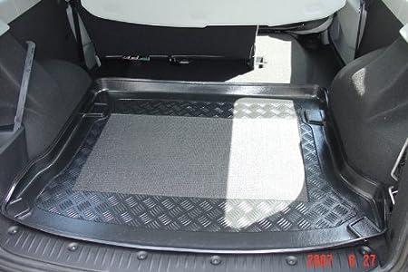 Kofferraumwanne Mit Anti Rutsch Passend Für Dacia Logan Mcv Combi 5 Tr 5 Sitzer 7 Sitzer 3 Reihe Rausgenommen 2007 Auto