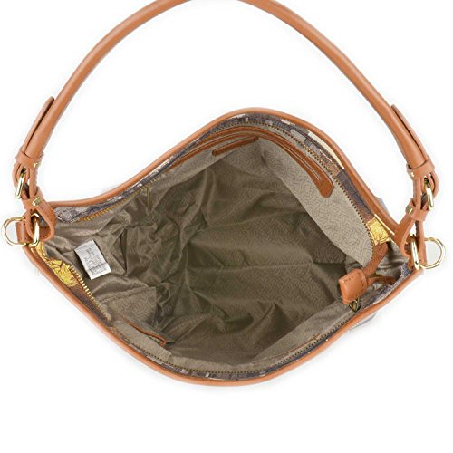 Y Not - Borsa donna a tracolla con tracolla sganciabile, Y Not Fame in New York - cuoio - I349.FAME IN NEW YORK - Cuoio - UNICA