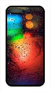 iPhone 5 5S Case patterns abstract colors parallax 12 TPU Custom iPhone 5 5S Case Cover Black