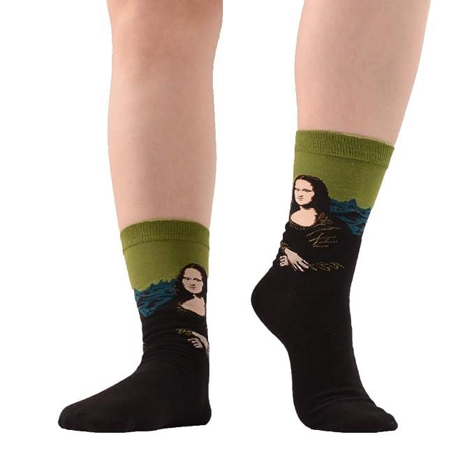 LILIKI@ 5 Par/Lote Retro Vintage Unisex Mujer Moderna Renacimiento Van Gogh Noche Estrellada Arte Pintura Al Óleo Calcetines Calcetines Divertidos: ...