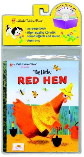 The Little Red Hen Little Golden Book and CD (Little Golden Book & CD) by Golden Books