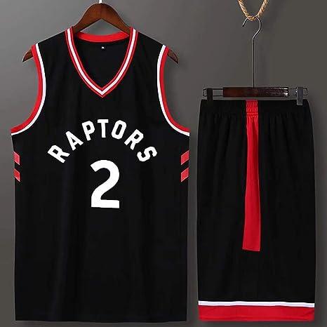 WEIHUA Raptors Jersey 2do Leonard Equipo de Uniforme de Baloncesto ...