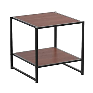 Amazon.com: Square Side End Table Night Stand Coffee Table ...
