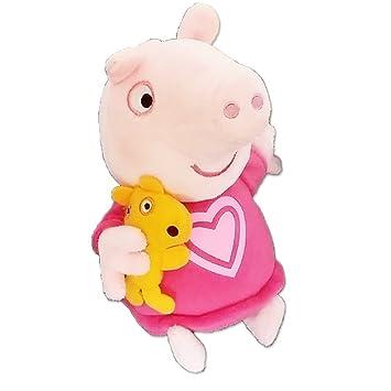 """Peppa Pig 7"""" Parlant Heure De Dormir Peppa Peluche"""