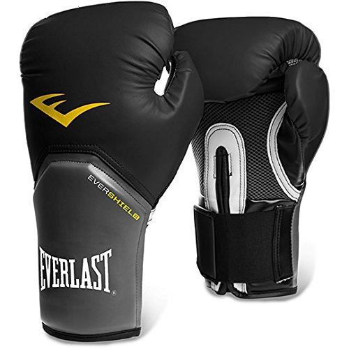 Everlast Pro Style Elite Training Boxing Gloves (Black)