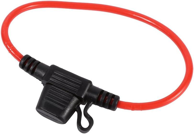 VGEBY 50pcs Car Truck ATC Low Profile Mini Blade Fuse Lot Automotive Replacement Fuses Assortment Kit 5,10,15,20,30 AMP