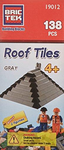 BRICTEK Roof Tiles- Grey- 138 ()