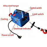 Techtongda 450KGX4.6M Portable Household Electric Winch With Wireless Remote 110V(Item#110060)
