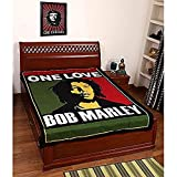 Krati Exports Beautiful Bob Marley Bohemian Wall Hanging Hippie Dorm Decorative One Love Wall Tapestry (85 x 55)