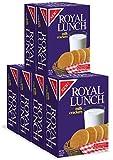 Royal Lunch Milk Crackers 6-pack - 14.14oz each box