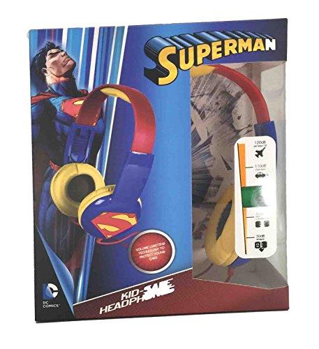 Kids Toddlers Superman Headphones Earphones product image