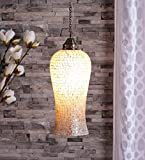 The Brighter Side Good Premium Quality Hanging Decorative light golden bell pendant for Room Office Home Decor