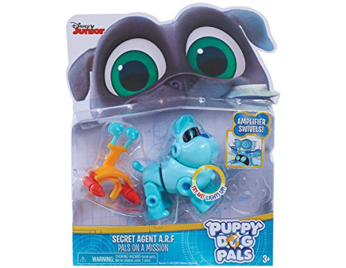 Puppy Dog Pals Light Up Pals On A Mission -A.R.F. with Amplifer & Rocket