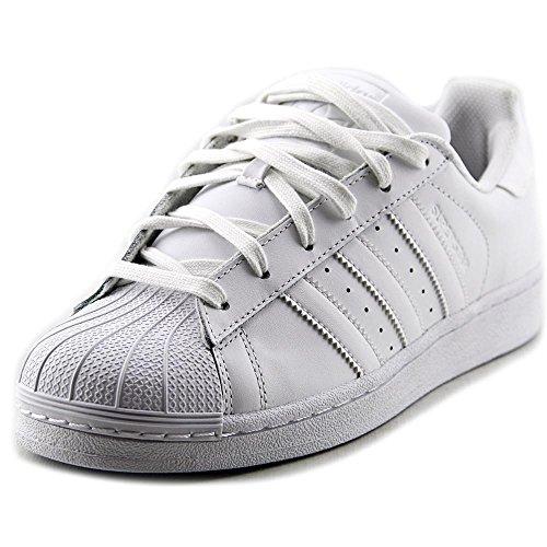 competitive price 2b9bf 50b1b Galleon - Adidas Originals Men s Superstar Foundation Casual Sneaker, White Running  White White, 8.5 M US