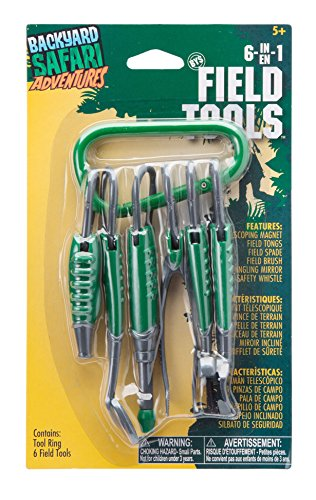 Top Toys for 5 Year Old Boys - Backyard Safari 6 in 1 Field Tools