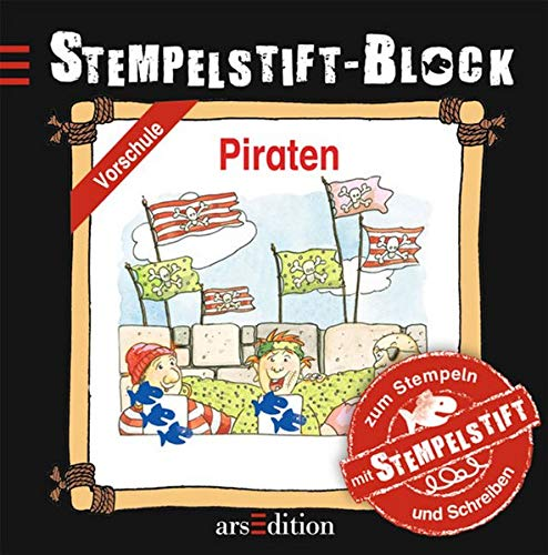 Stempelstift-Block: Piraten