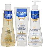 mustela cold cream - Mustela Dry Skin Bathtime Set, 2.04 Lb.