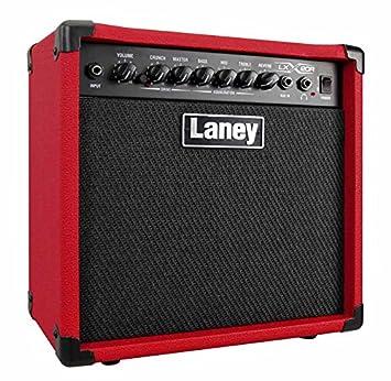 Amplis guitarra eléctrica Laney LX20R rojo Combos transistore y hybrides: Amazon.es: Instrumentos musicales