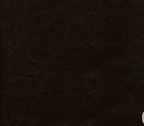 vinyl-fabric-faux-leather-victoria-distressed-dark-brown-upholstery-fabric-54-wide-sold-by-the-yard