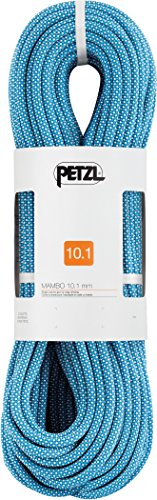 PETZL - Mambo Wall 10.1, Single Rope for Indoor Climbing, Blue, 40 m
